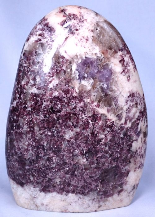 Beautiful sparkling lepidolite freeform - 180×140×55 mm - 1963 g