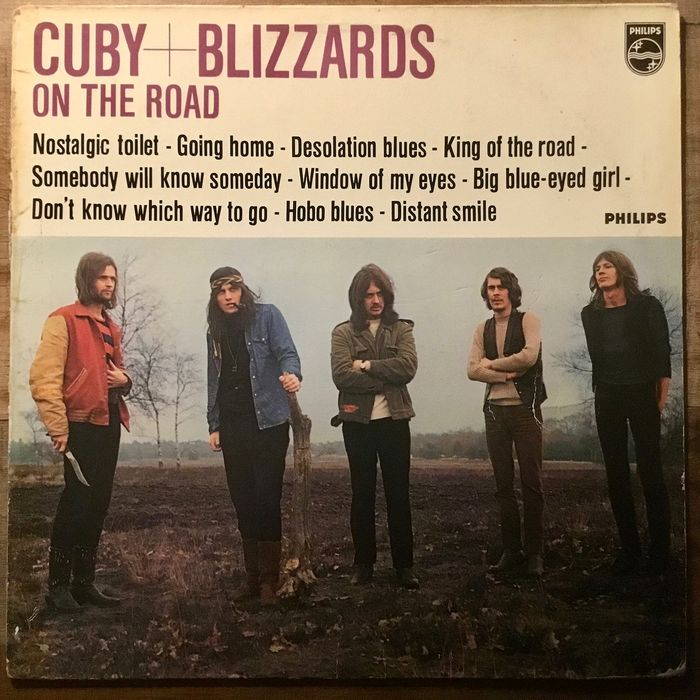 Cuby + Blizzards - On The Road  (Club Edition) - LP Album - 1968