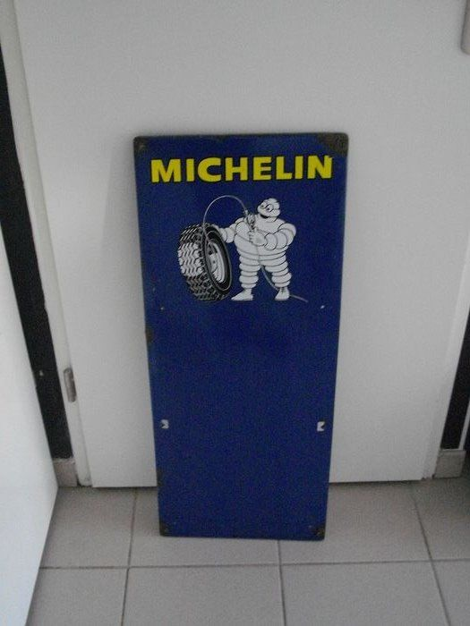 Plaque publicitaire - Michelin - 1970