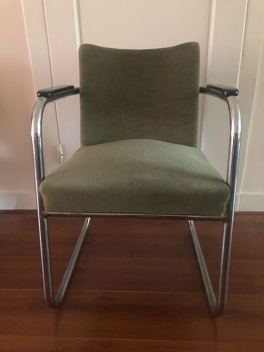 J.W.E. Buys - Chrome tube frame chair from 30s