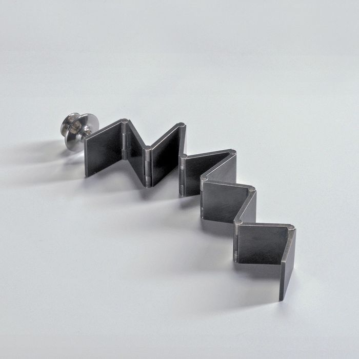 Ron Arad - CHP Jewelry Collection - Gijs Bakker Projects - Brooch / earring - Steps