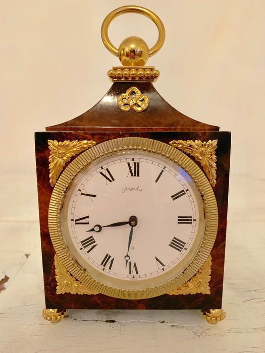 Tabletop clock - Iron (cast/wrought), Remove other and add - Second half 20th century