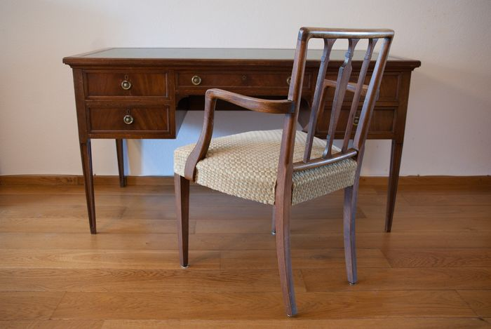 Office chair, Writing desk - Edwardian Style