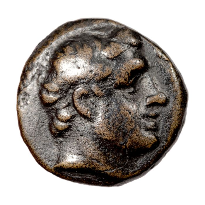 Greece (ancient) - Thessaly, Phalanna (Perrhaebia). AE 18 / Dichalque, c. 400-344 BC - Copper