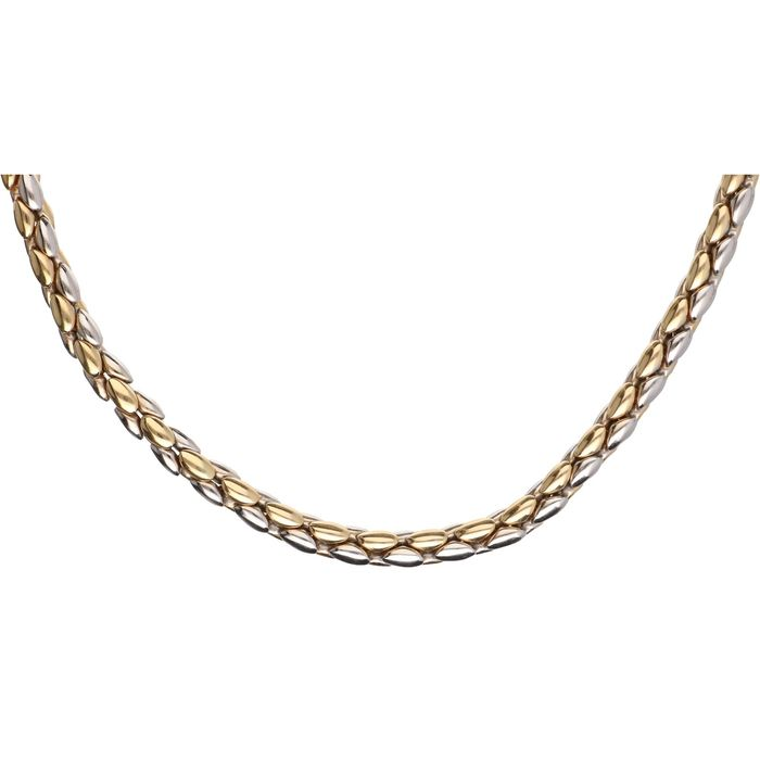 14 kt. Bicolour, Gold - Necklace