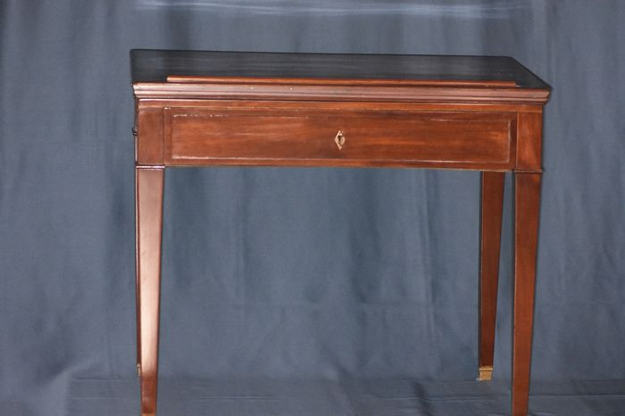 Louis XVI Architects Table to La Tronchin - Neoclassical Style - Mahogany - 18th century