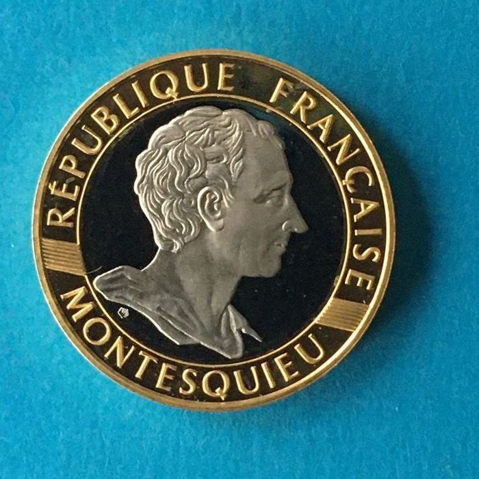 10 Francs 1989 Montesquieu - Or
