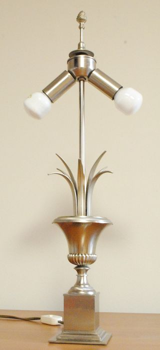S. A. Boulanger - Lamp with pineapple leaf design