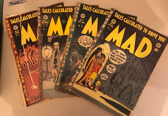 Tales calculated to drive you MAD 1/5/7/10 - MAD - Συρραμένο - Πρώτη έκδοση - (1952/1954)