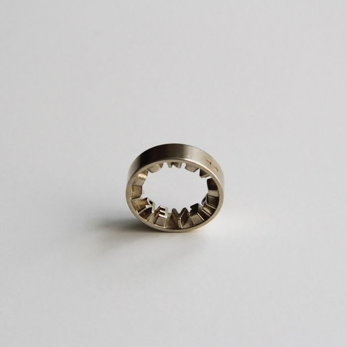 Ineke Hans - CHP Jewelry Collection - Gijs Bakker Projects - Ring - Forever Yours Ring (size 17)