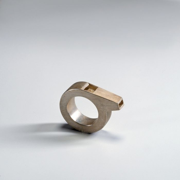 Hannes Wettstein - CHP jewelry Collection - Gijs Bakker Projects - Ring - Triller Ring (size 17)