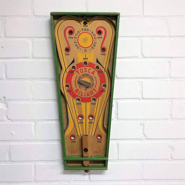 Homas marbles game Tosca - Wood