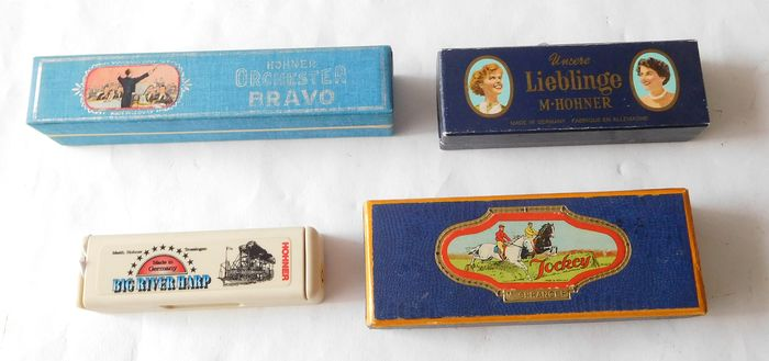 Hohner, Spranger - Multiple models - Harmonica - Germany
