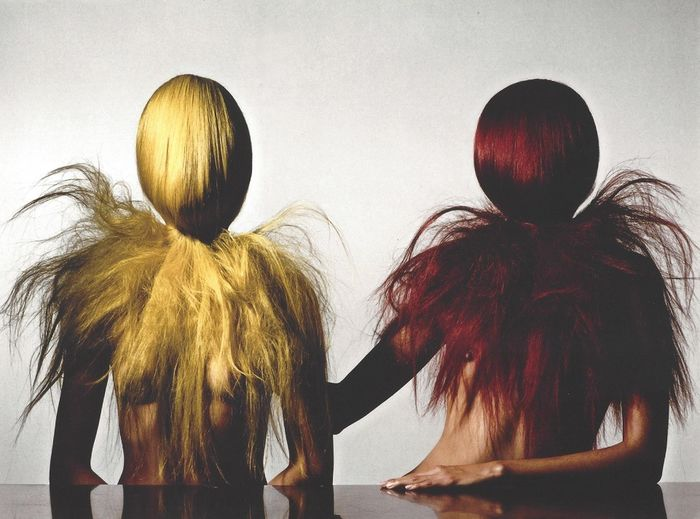 Irving Penn (1917-2009) - Two Hairy Young Women NY Publication Photo