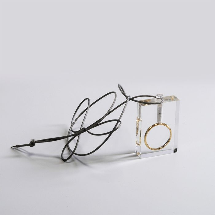 Ted Noten - CHP Jewelry Collection - Gijs Bakker Projects - Pendant - Wedding Ring Pendant (with tube)