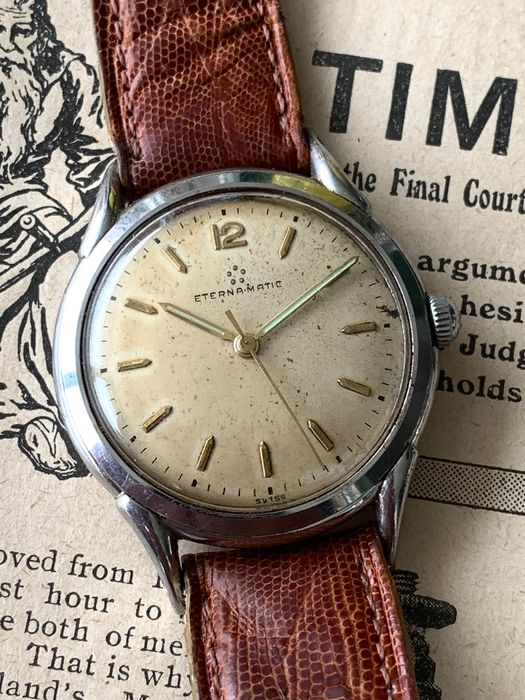 "Eterna-Matic - 1249T - ""NO RESERVE PRICE"" - Homme - 1950-1959"