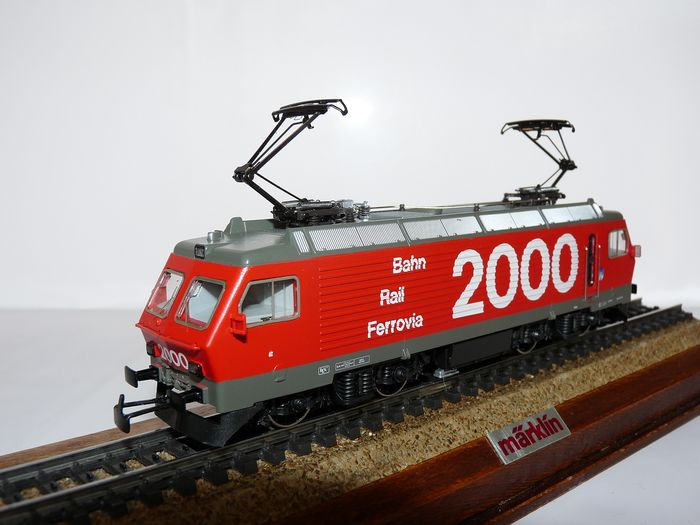 Märklin H0 - 3330 - Electric locomotive - Re 4/4 IV - SBB