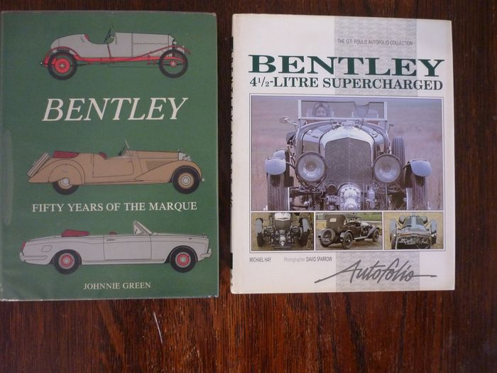 Libros - Bentley - Bentley 50 Years of the Marque and 41/2 Litre Supercharged - 1974-1990