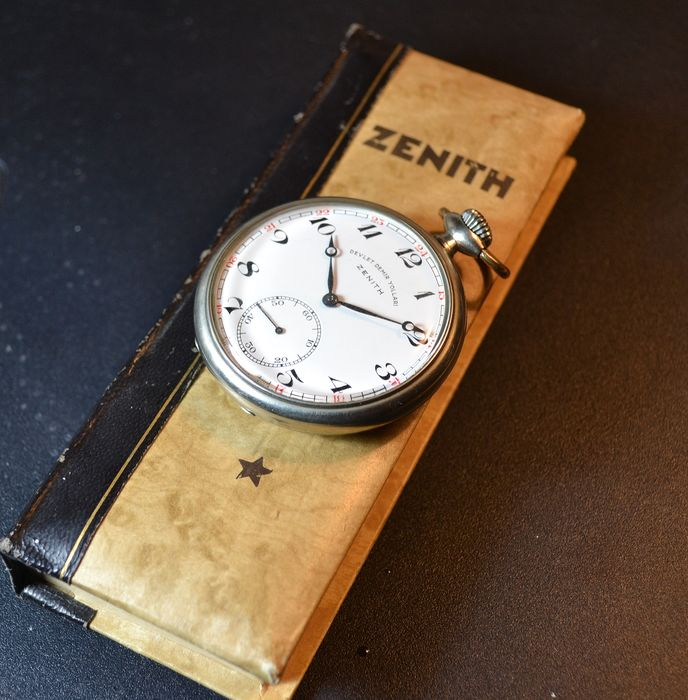 Zenith Devlet Demir Yollari - pocket watch NO RESERVE PRICE - 6305771 - Homem - 1950-1959
