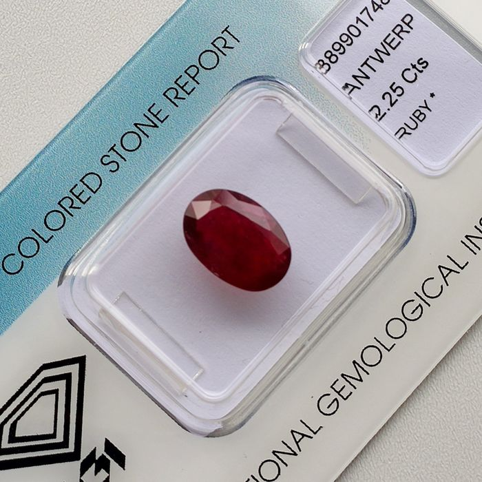 Ruby - 2.25 ct