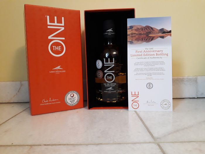 The Lakes Distillery The One - Original bottling - 0.7 Ltr