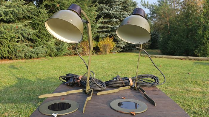 Unknown Designer - Military - Desk lamp (2)