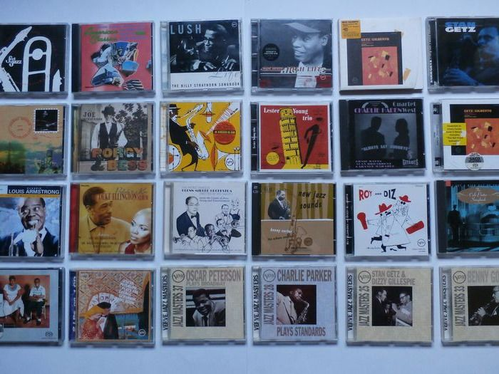 Louis Armstrong, Stan Getz, Joe Henderson - Multiple artists - 30 different Jazz cd's from many artists - CD - 1990/2007