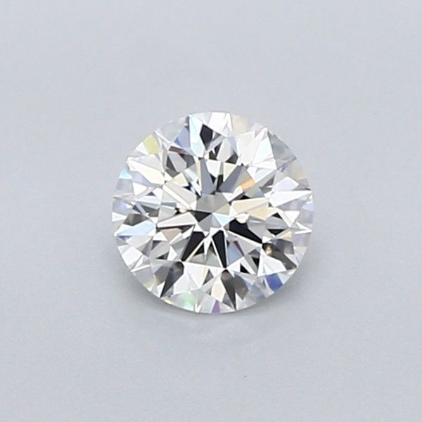1 pcs Diamant - 0.60 ct - Brillant - D (incolore) - IF (pas d'inclusions), **3EX***