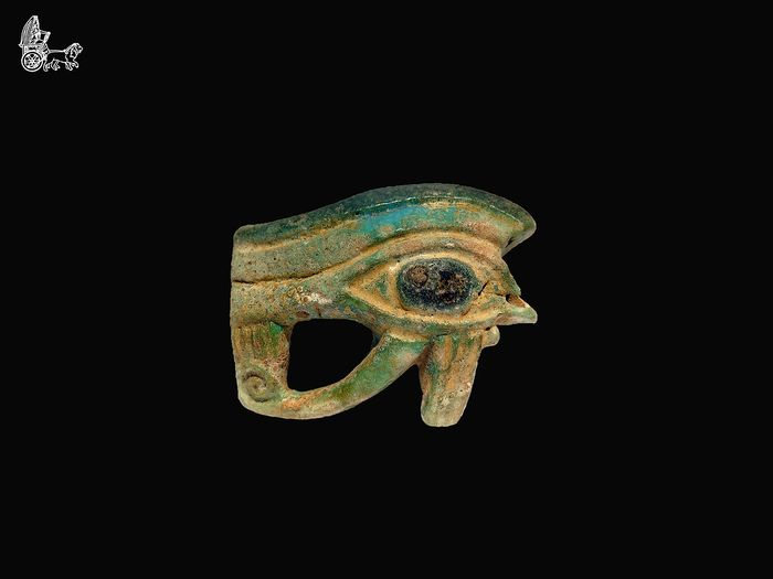 Ancient Egyptian Faience Eye Oudjat