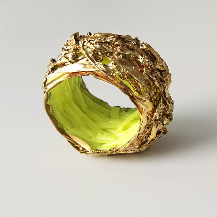 Gijs Bakker - CHP Jewelry Collection - Gijs Bakker Projects - Bracelet - Plastic Soup (yellow/gold)