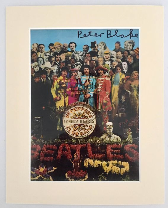 Sir Peter Blake  - Sgt. Pepper's Lonely Hearts Club Band