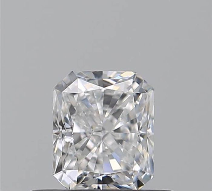 1 pcs Diamond - 0.40 ct - Radiant - F - VS1