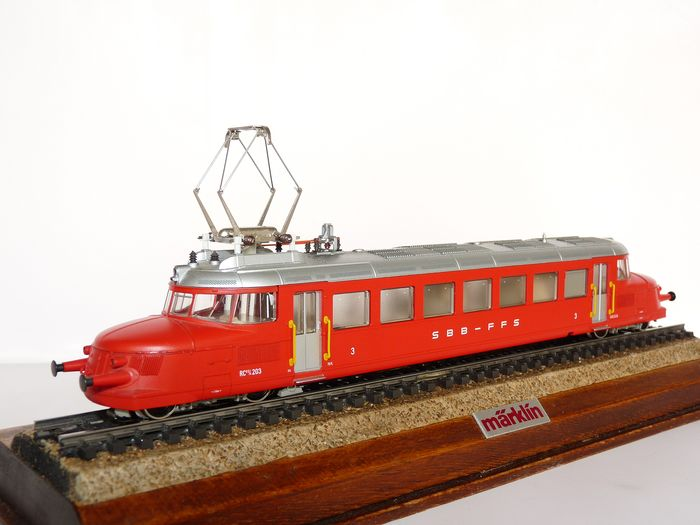 "Märklin H0 - 3605 - Railcar - RBe 2/4 ""red arrow"" - SBB-CFF"