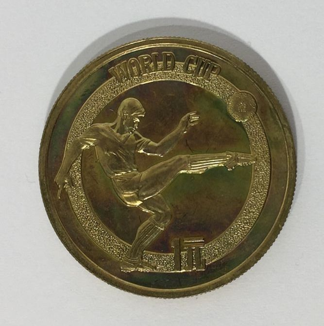 Chine - 1 Yuan 1982 - FIFA World Cup - Cuivre