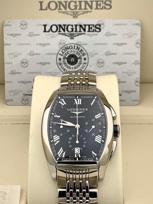 Longines - Evidenza Automatic Chronograph  - L2.643.4 - Heren - 2011-heden
