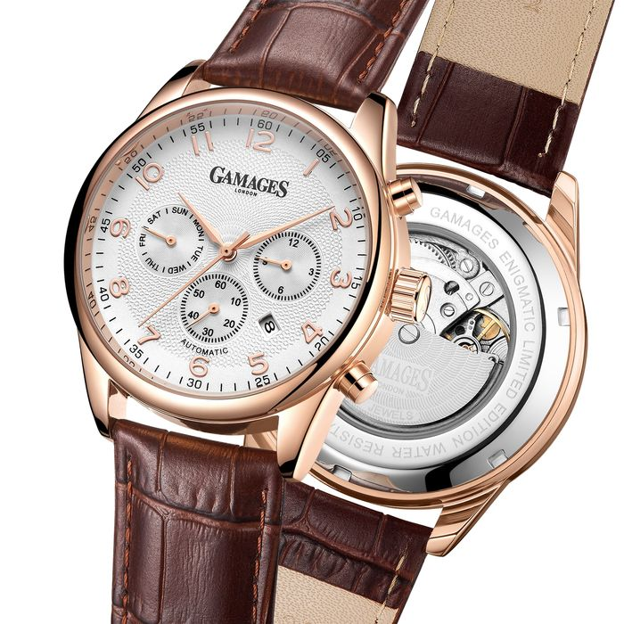 Gamages of London Watches - Limited Edition Hand Assembled Enigmatic Automatic Rose - GA0010 - Hombre - 2011 - actualidad