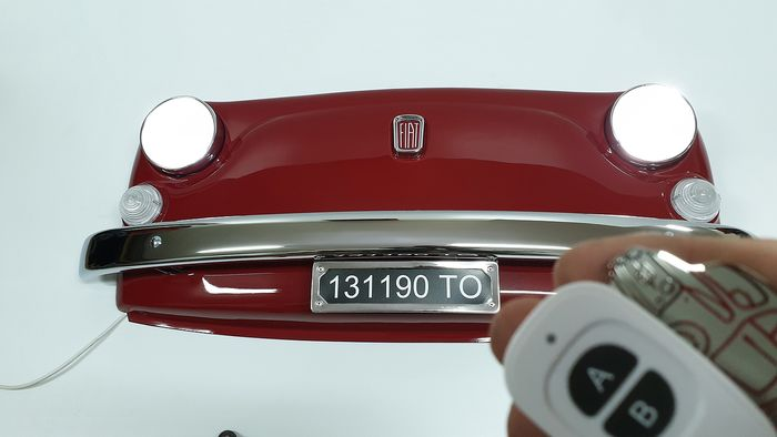 Decoratief object - Fiat 500l Front - 2019