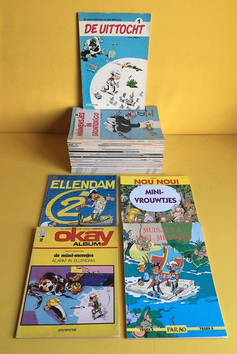 De Mini-mensjes 1 t/m 32 - + 4 diversen - Softcover - Different editions - (1975/1996)
