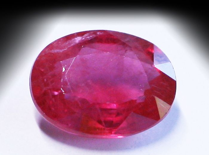 Red Ruby - 1.29 ct