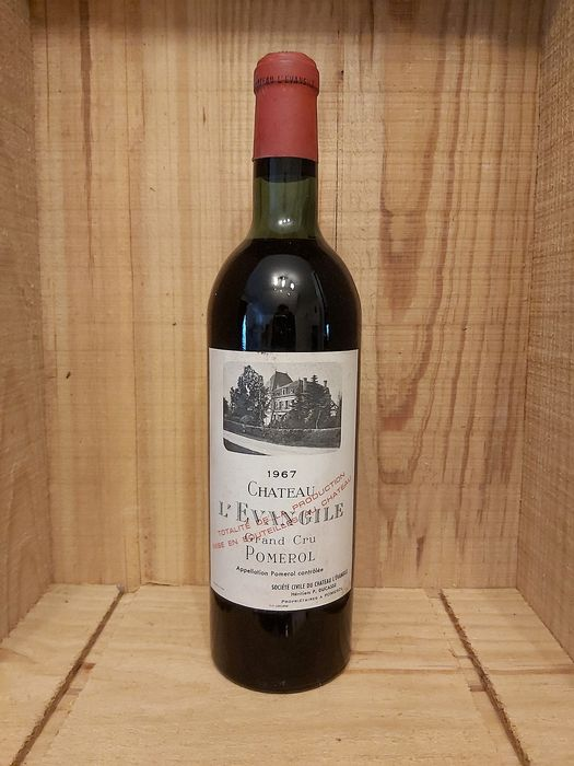 1967 Chateau L' Evangile  - Pomerol - 1 Bottle (0.75L)