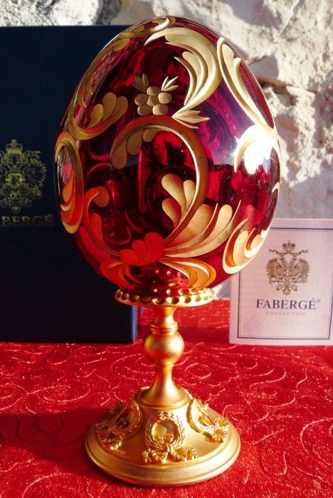 Fabergé - Collection (1) - Crystal, Goldplate