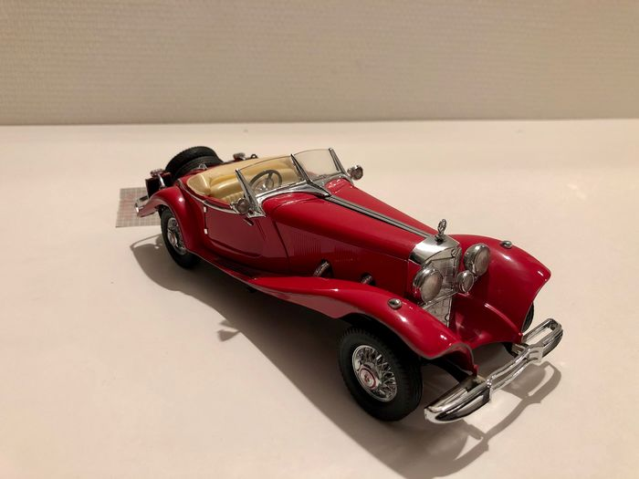 Franklin Mint, Mercedes Benz 500K Special Roadster 1935 - Modelauto - metaal