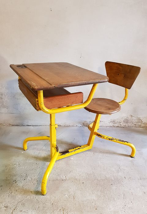 Jacques Hitier - Mobilor - Children's desk with chair