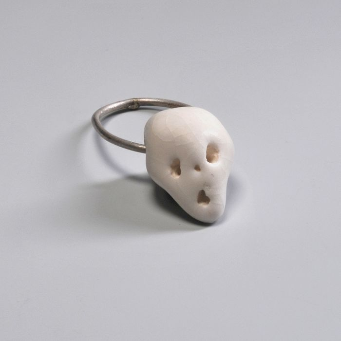 Constanze Schreiber - CHP Jewelry Collection - Gijs Bakker Projects - Ring - Abschiedsfest ring, white (size 17)