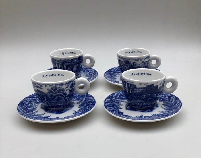Rufus Willis - Rosenthal - Espresso Cups Illy Collection (6) - Porcelain