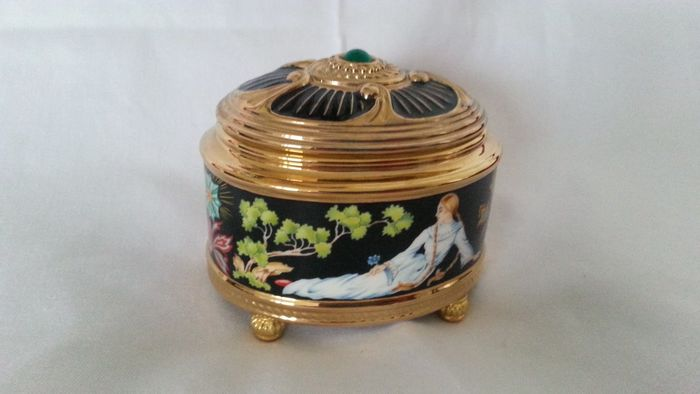 """Fabergé - """"The Imperial Music Box Collection"""" -Dit is - The stone Flower - Beperkte oplage, in zeer goede staat"""
