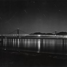 Unknown/Acme Newspictures  - The Golden Gate Bridge at Night, c.1947