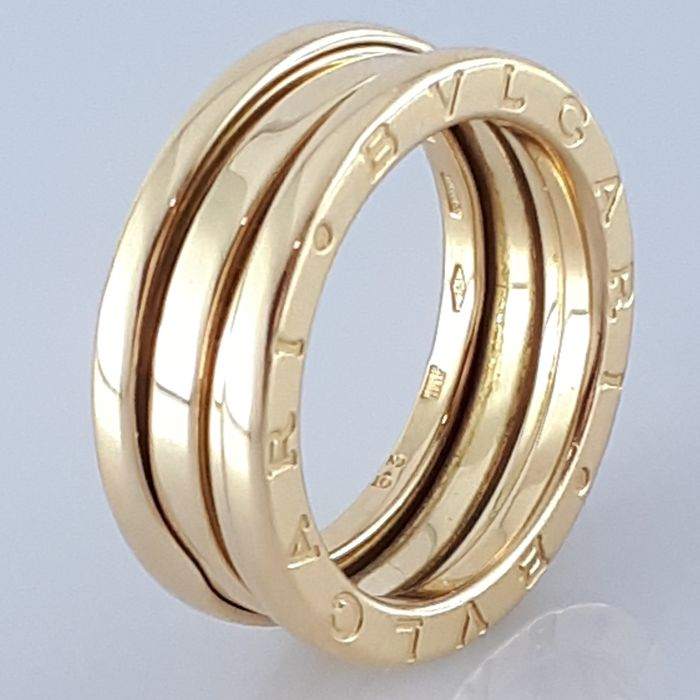 Bvlgari - 18 kt. Yellow gold - B.Zero1 Ring