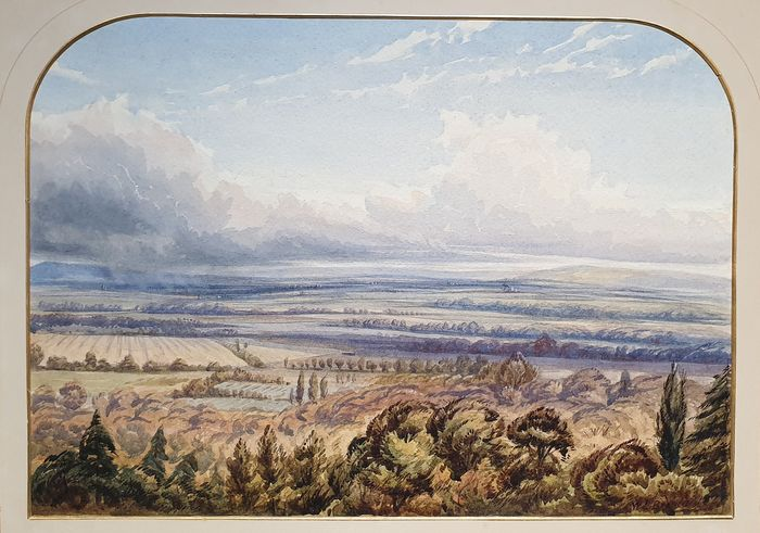 William III Bromley - Wiew from the Belle Vue Hotel, Capel