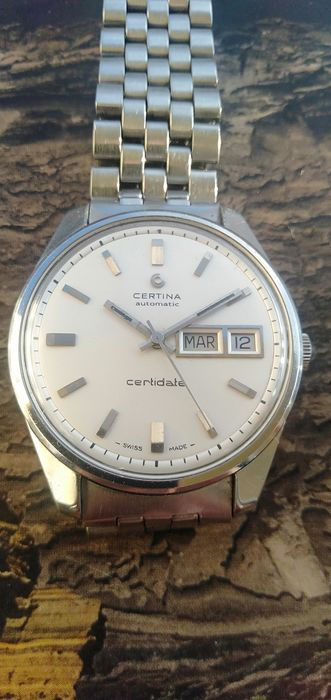 Certina - Certidate Day - Date  - Men - 1970-1979